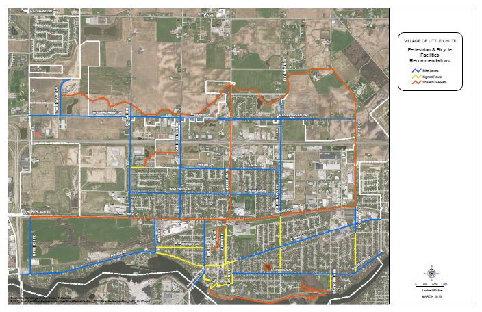 2016 Proposed Bike Pedestrian Plan Map