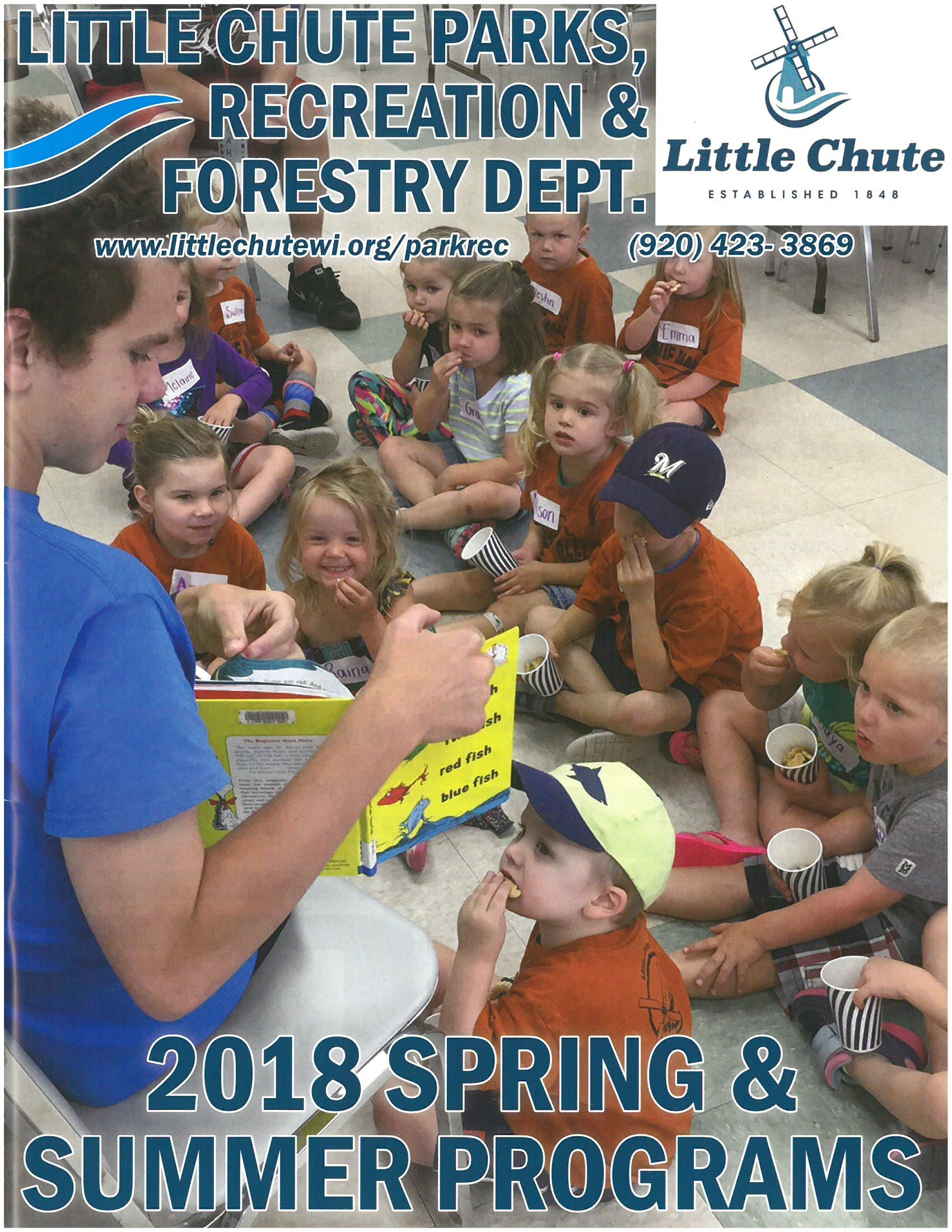 2018 Program Book Cover